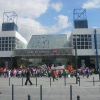 Manifestation à la Gare, Ренн