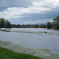 Le plan deau sur la Loire à Feurs, Руанн