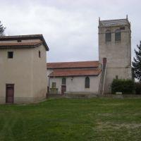 Saint Laurent la Conche ...léglise son clocher dun accès particulier, Руанн