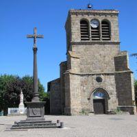 Croix devant léglise de Saint-Etienne-le-Molard, Руанн