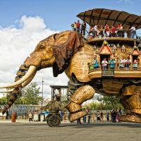 grand elephant nantes, Нант