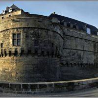 NANTES [44] - Vue panoramique du Château des Ducs de Bretagne (décembre 2007), Нант