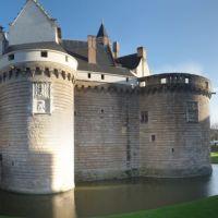 Panorama du Chateau des Ducs de Bretagne, Нант