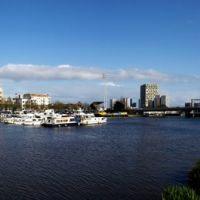 Panorama Nantes Harbour, Нант