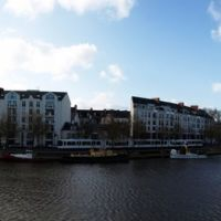Panorama Nantes River, Нант
