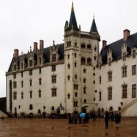 Panorama Nantes Chateau, Нант