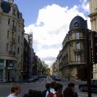 Reims - Vue vers la rue Thiers, Реймс