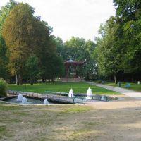 Reims: Kiosque, jardins de la patte doie, Реймс