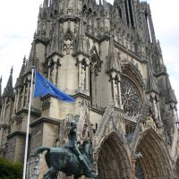 Cathédrale Notre-Dame, Reims, Marne, Champagne-Ardenne, France, Реймс