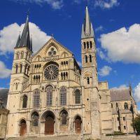 Basilique Saint-Rémi. Reims., Реймс