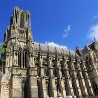 Cathédrale Notre-Dame. Reims., Реймс