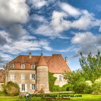 Le château de Drulon. 18170 Loye sur Arnon, Антони