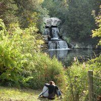 Les amoureux de la cascade du Bois de Boulogne, Асньер