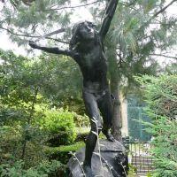 Boulogne-Billancourt - Jardin-musée Landowski : David combattant, Булонь-Билланкур
