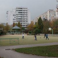Boulogne-Billancourt. lair de jeu du parc de mon enfance, Женневилльер