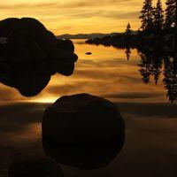 The mirror of Rocks, Кламарт