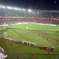 Parque de los Príncipes. Copa UEFA. PSG - Racing de Santander. 27-11-08, Коломбес