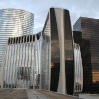 La Défense, Paris, Курбеву