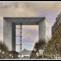 Arche de la Défense, Курбеву