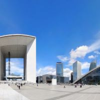 Panorama Paris, La Défense, Курбеву