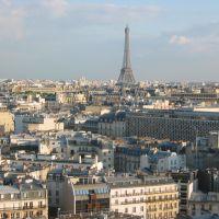 Paris vu depuis le Concorde Lafayette, Левальлуи-Перре