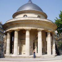 Rotonde de Monceau, Barrière de Chartres (1784), Левальлуи-Перре