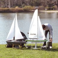 Préparation dun Mini-Racing au Lac Supérieur, Нантерре