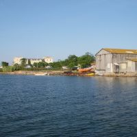 la plagette et la réparation de vielles barques, Сет
