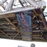 Graffitis sous le pont SNCF avant 2010., Сет