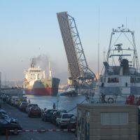 Séte, chimiquier dans le Canal Maritime (avec zoom), Сет