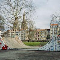 Skate Park. Bayonne - Pays Basque - Pyrénées Atlantiques., Байонна