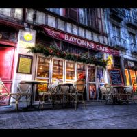 ★ Bayonne (France), le Bayonne Café ~ Karim SAARI ©, Байонна