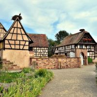 Écomusée d'Alsace, Ungersheim, Hof vom Kochersberg, Колмар