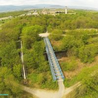 Pont cyclable sur Thur PULVERSHEIM, Мулхаузен