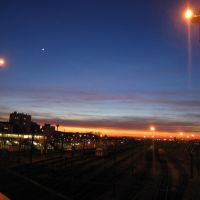 Gare de noisy le sec by night, Бонди