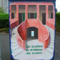 Drancy - armoire électrique : (Sénégal, Gorée), Дранси