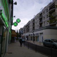 Aulnay sous bois - quartier centre gare, Ла-Курнье