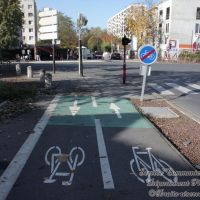 Rue Andreï Sakharov, Ле-Бланк-Меснил