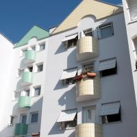 Bondy Habitat cité polissard, Ле-Бланк-Меснил