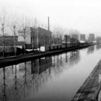 Bondy: le Canal de lOurcq., Ле-Бланк-Меснил
