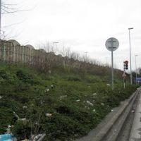 Bobigny - Seine-Saint-Denis : near traffic lights: human are .... pigs 1, Ле-Бланк-Меснил