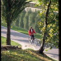 Piste cyclable du canal de lourc, Монтреуил