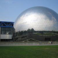 Parigi, Parc de la Villette, Géode, Обервилье