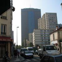 Aubervilliers - rue Henri Barbusse  vers Paris, Обервилье