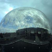 La Geode Imax, Parc de la Villette, Paris, Обервилье