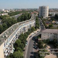 Bondy habitat avenue Léon Blum et autoroute A1, Пантин