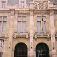 Saint Denis, façade de Hotel de Ville, Сен-Дени
