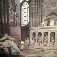 basilique de Saint Denis - tombeaux royaux, Сен-Дени