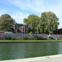 bord du canal - usine Christofle, Сен-Дени