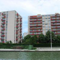rives du canal, Сен-Дени